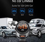 economico -qc 3.0 / display a led / caricabatteria da auto pd adattatore usb 1 porta usb caricatore solo 5 v / 1.5 a / 3 a / 2 a