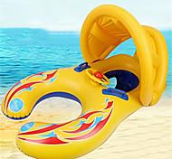 economico -Piscine galleggianti gonfiabili Baby nuoto galleggiante Tendalino parasole con sedile di sicurezza PVC / Vinile Auto Divertimento in acqua Summer Beach Swimming 1 pcs Ragazzi e ragazze Per bambini