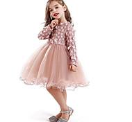 economico -abiti da cerimonia per abiti da principessa floreali in pizzo da bambina per bambina