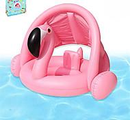 abordables -Jouets Gonflables de Piscine Flotteur de natation pour bébé Auvent pare-soleil avec siège de sécurité PVC / vinyle Flamant Plaisir de l'eau Baignade à la plage d'été 1 pcs Garçons et filles Enfant