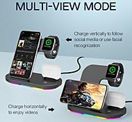 abordables -Sortie d'usine 15 W Puissance de sortie Chargeur de portable Chargeur Sans Fil Portable Sorties Multiples CE Pour Apple iPhone 12 11 pro SE X XS XR 8 Samsung Glaxy S21 Ultra S20 Plus S10 Note20 10