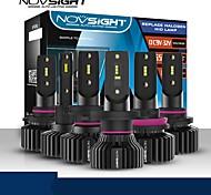 economico -lampadine per auto a led novsight 2 pezzi a500-n31 per h1-h4-h7-h11-9005-9006 fari a led 50w 10000lm per motori generali universali tutti gli anni con video di installazione