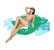 economico -galleggiante gonfiabile per piscina gigante cactus, zattere d'acqua stile piante giocattoli gonfiabili per camera d'aria, galleggiante per piscina in gomma verde brillante, ottimo per adulti&