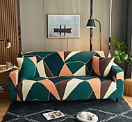 abordables -Housse de canapé élastique simple de couleur unie nordique simple double housse de canapé pour trois personnes