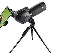 abordables -GOMU 20-60 X 60 mm Monoculaire Imperméable Antibuée Transport Facile Zoom 5 m Multi-traitées BAK4 Chasse Spectacle Le golf