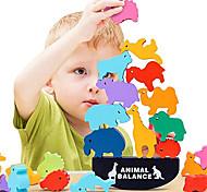 abordables -Jouets à empiler d'animaux marins pour enfants Blocs en bois de qualité pour l'entraînement à la concentration et à la motricité - Meilleures vacances& amp; cadeau d'anniversaire pour les