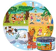 abordables -150 pcs Famille Puzzle Jouet Educatif Cadeau Adorable Jouets de décompression Interaction parent-enfant Papier carton Enfants Adolescent Jouet Cadeau