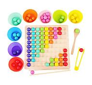 abordables -jeu de plateau arc-en-ciel jeu de perles de plateau en bois coloré jeu de plateau de puzzle drôle jeu de plateau de puzzle pour tout-petit correspondant gamemontessori jouets pour les tout-petits jeu