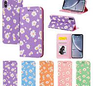 economico -telefono Custodia Per Apple Integrale Custodia in pelle Custodia flip iPhone 12 Pro Max 11 SE 2020 X XR XS Max 8 7 6 Resistente agli urti Con chiusura magnetica A calamita Floreale Tinta unica