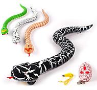 economico -Giocattolo serpente telecomandato da 16 pollici con controller a infrarossi a forma di uovo, giocattolo serpente rc a infrarossi realistico con lingua retrattile e coda oscillante, ricaricabile USB,