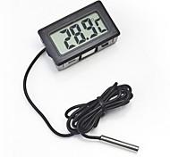 abordables -Mini numérique lcd intérieur pratique capteur de température humidité mètre thermomètre hygromètre jauge mètre