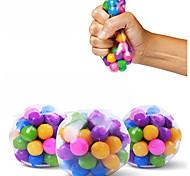 economico -1 pz palline antistress trasparenti palline colorate autismo umore spremere sollievo giocattolo sano divertente gadget sfiato giocattolo bambini regalo di natale