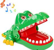 abordables -Jeux de Société Dentiste Crocodile Jouet astucieux Plastique Nouveautés Interaction parent-enfant Mordre la main Enfant Adulte Garçon Fille Jouets Cadeaux