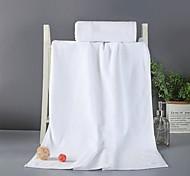 abordables -Qualité supérieure Serviette de bain, Couleur Pleine / Mode Pur coton Salle de  Bain 1 pcs