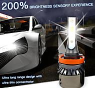 abordables -OTOLAMPARA Automatique LED Lampe Frontale / Voiture Canbus Light H7 / H4 / H3 Ampoules électriques 5000 lm LED Haute Performance 55 W 2 Pour Volvo / Volkswagen / Toyota Voyou / Silverado / CR-V 2018