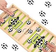 abordables -jeu de rondelle de fronde rapide table rythmée table de bataille de bureau vainqueur de baby-foot jeu de plateau de hockey en bois pour la famille adultes et enfants jeux de société 2 joueurs