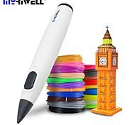 abordables -Myriwell stylo 3d stylo d'impression 3D basse température avec filament pcl cadeau d'anniversaire jouet créatif pour enfants dessin de conception