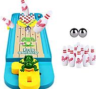 abordables -Mini jeu de bowling ensemble jouet de bowling intérieur classique bureau balle conseil jouet bureau jeu de bowling pour enfants& amp; adultes