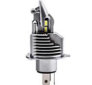 economico -otolampara faro del motociclo h4 lampadina a led 200w 12v 6000k super brillante leggerezza pk43t lampadine per fari auto aviazione alluminio dissipazione del calore 1 pz