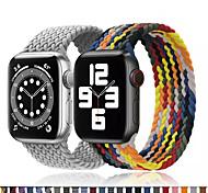 economico -Cinturino intelligente per Apple  iWatch 1 pcs Bracciale stampato Nylon Sostituzione Custodia con cinturino a strappo per Apple Watch  6 / SE / 5/4/3/2/1