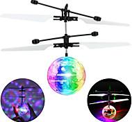 abordables -Mini Boule de vol magique Gadget Volant Hélicoptère Avion Hélicoptère Phosphorescent LED avec détecteur infrarouge Plastique Enfant Adulte Unisexe Garçon Fille Jouet Cadeau / Fluorescent cadeaux noël