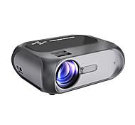 economico -proiettore hd 1080p nativo 1280x720p mini proiettore wi-fi 150 ansi lumen luminosità proiettore cinematografico portatile esterno mirroring wireless tramite cavo wifi / usb per android / laptop / windows