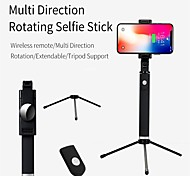 abordables -K09 Bluetooth Selfie Stick Extensible Selfie Stick Contrôle Sans Fil Selfie Stick pour Samsung iPhone Xiaomi Huawei Smart Devices