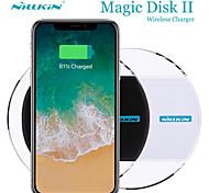 economico -Nillkin 5 W Potenza di uscita Pad di ricarica wireless Caricatore senza fili Portatile Caricatore senza fili Qi CE Per Apple iPhone 12 11 pro SE X XS XR 8 Samsung Glaxy S21 Ultra S20 Plus S10 Note20