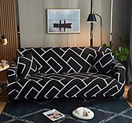 abordables -Housse de canapé extensible tout-puissant imperméable à la poussière d'impression de brique noire Housse de canapé en tissu super doux avec une taie d'oreiller gratuite