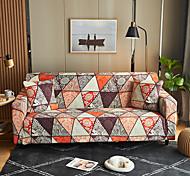 abordables -Victoria bourgogne imprimé floral anti-poussière tout-puissant housses housse de canapé extensible housse de canapé en tissu super doux avec une taie d'oreiller gratuite