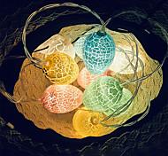 abordables -3m 20leds lumières de chaîne d'oeufs de décoration de pâques pour la décoration de vacances de festival de pâques à piles