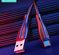 economico -Joyroom Micro USB USB C Cavi Carica rapida Trasmissione dati Caricatore del telefono 2.4 A 2.0m (6,5 piedi) PVC Per Samsung Xiaomi Huawei Appendini per cellulare