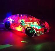 abordables -1:8 Petites Voiture Véhicules Automatique Voiture de Course Plastique PP+ABS Mini jouets de véhicules de voiture pour cadeau de fête ou cadeau d'anniversaire pour enfants / Enfants
