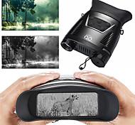 abordables -SIGNBACK 3.5-7 X 31 mm Jumelles Lunette d'observation Lentilles Coffret de Transport Vision nocturne Portable Extrêmement clair Multi-traitées BAK4 Camping / Randonnée Activités Extérieures Militaire