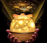 economico -Luci notturne per bambini e ragazzi Musica MOON Stella Luce con cielo stellato Illuminazione LED Giocattoli luminosi Lampada della costellazione Proiettore di stelle Luminoso 1W USB Per bambini Adulto