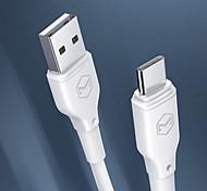 economico -MCDODO USB C Cavi Normale Trasmissione dati Caricatore del telefono 3 A TPE Per Xiaomi MI Samsung Xiaomi Appendini per cellulare