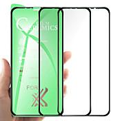 abordables -Protection Ecran Apple PET iPhone 12 iPhone 11 iPhone 12 Pro Max iPhone XR iPhone 11 Pro 3 pcs Extra Fin Anti-Traces de Doigts Ecran de Protection Avant Film Vitre Protection Accessoire de Téléphone