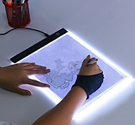 economico -ultra sottile a4 a5 led light pad artist light box table tracing drawing board pad diamond painting ricamo strumenti
