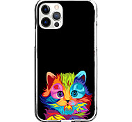 economico -custodia con motivo a gatto creativo per apple iphone 12 iphone 11 iphone 12 pro max custodia protettiva dal design unico modello cover posteriore tpu