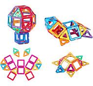 abordables -Blocs Magnétiques Carreaux magnétiques Blocs de Construction Briques de construction 64 pcs Mode Automatique Transformable Jouets de construction Garçon Fille Jouet Cadeau / Enfant