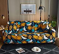 abordables -orangle laisse imprimer des housses tout-puissantes anti-poussière housse de canapé extensible housse de canapé en tissu super doux avec une taie d'oreiller gratuite