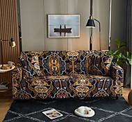 abordables -orangle victoria impression bohème anti-poussière toutes puissantes housses de canapé extensible housse de canapé en tissu super doux avec une taie d'oreiller gratuite