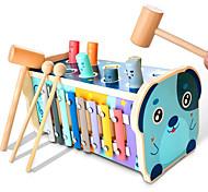 abordables -marteau en bois marteau jouet piquets éducatifs livre labyrinthe puzzle trieur de numéros jouet musical avec xylophone marteaux maillets cadeau pour garçons et filles de 1 à 4 ans