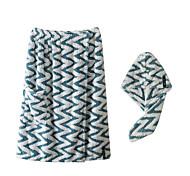 abordables -Qualité supérieure Ensemble de serviette de bain, Mode 100% Microfibre Salle de  Bain 1 pcs