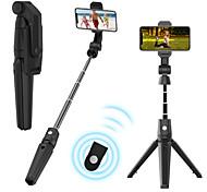 abordables -trépied de bâton selfie bluetooth k21 pour iphone samsung oneplus télécommande sans fil bluetooth extensible longueur maximale jusqu'à 93 cm bâton selfie pour appareils intelligents Android