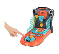 abordables -Jeu de basket-ball de bureau à 1 ou 2 joueurs Jeux d'arcade classiques Baskeball Shootout Table Top Tir Jouet d'activité amusant pour les enfants Adultes Fans de sport - aide à réduire le stress