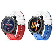 abordables -LV69 Smartwatch Montre Connectée pour Android iOS Samsung Apple Xiaomi Bluetooth 1.28 pouce Taille de l'écran IP 67 Niveau imperméable Imperméable Ecran Tactile Moniteur de Fréquence Cardiaque Mesure