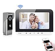 economico -XINSILU XSL-V70MG-WIFI Wi-fi / Con filo Fotografato / Registrazione 7 pollice Sistema Hands-Free 800*480 Pixel Videocitofono One to One
