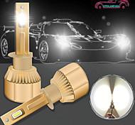 abordables -OTOLAMPARA Automatique LED Lampe Frontale H7 / H4 / H11 Ampoules électriques 6800 lm LED Haute Performance 68 W 2 Pour Volvo / Volkswagen / Toyota Voyou / Silverado / Cow-boy 2018 / 2013 / 2014 2