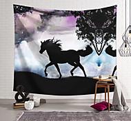 abordables -Tapisserie murale art décor couverture cheval rideau suspendu maison chambre salon décoration et fantaisie et animal